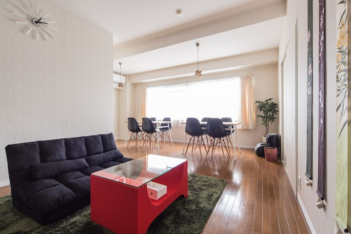 Kyoto 3BR 13pax $0wifi Arashiyama - Kyōto-shi - Apartament
