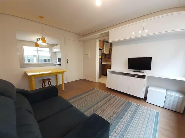 Lindo apartamento em bairro nobre - c/ ar condicionado
