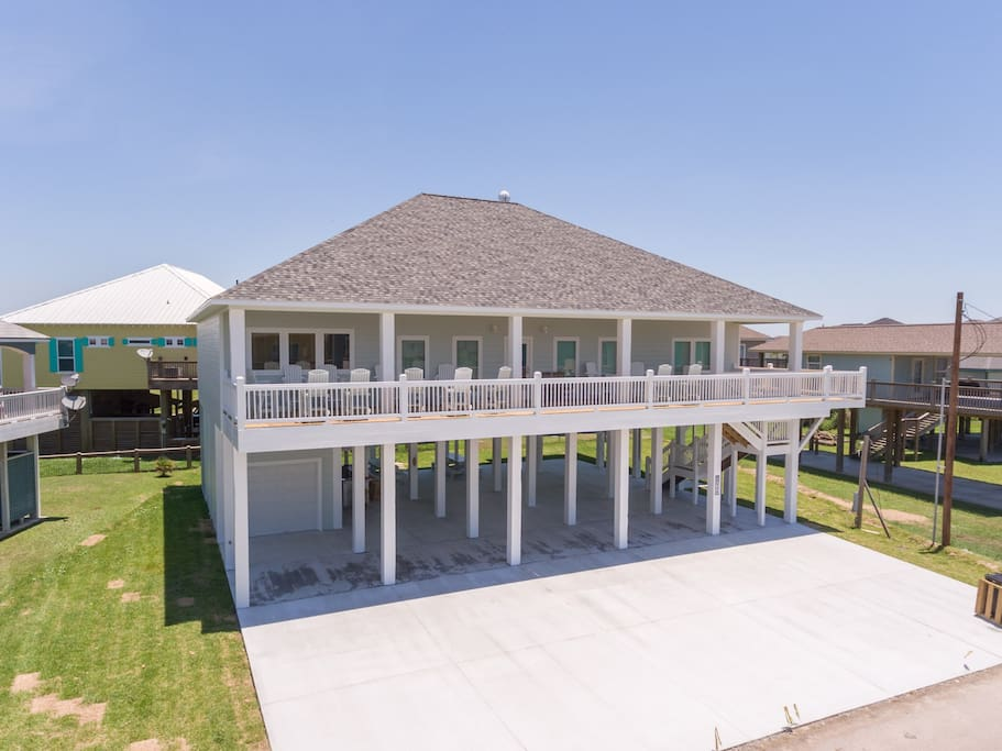 Welcome to Diamond in the Dunes! Beautiful five bedroom four bathroom custom home less than 500 feet from the beach!