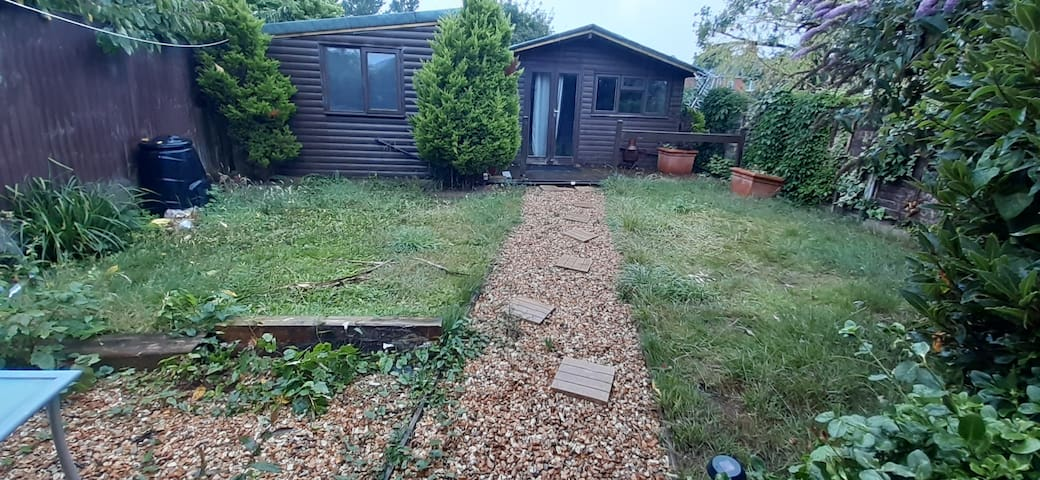 One bedroom with private garden in Bournemouth