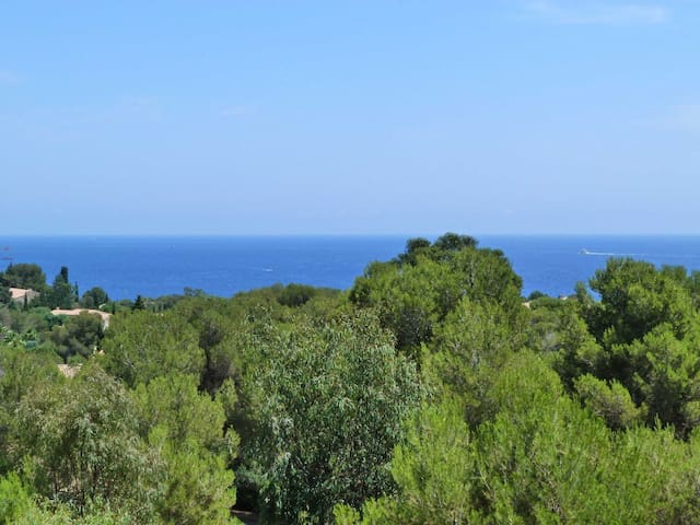 Beau studio cabine vue MER tout équipé 233LA - Saint-Raphaël - Apartment