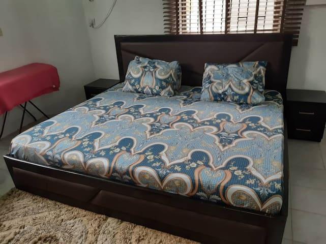Very comfortable bedroom
