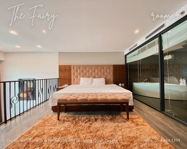 SUPER KING SIZE BED (2m x 2m2) for 1-4 pax