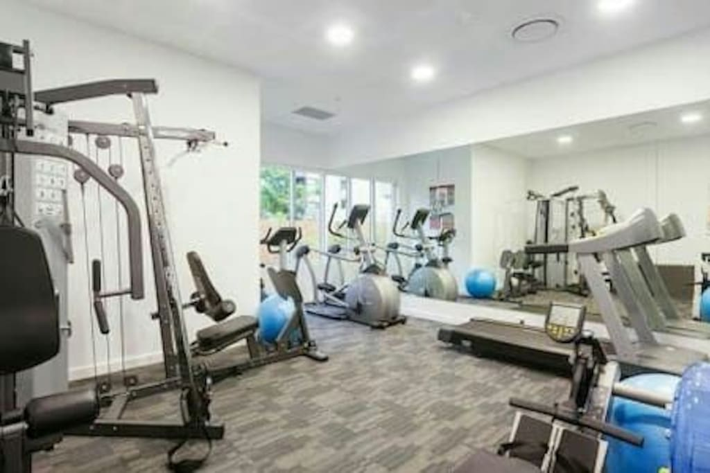 GYM Located On Level G Accessible Via The Right Hand Side Lift By Pressing G On The Far Right Hand Side Of The Lift Available 24 Hours