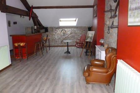 MAISON MEUBLEE DE 180 M2 prox ST VULBAS - Ambérieu-en-Bugey - Şehir evi