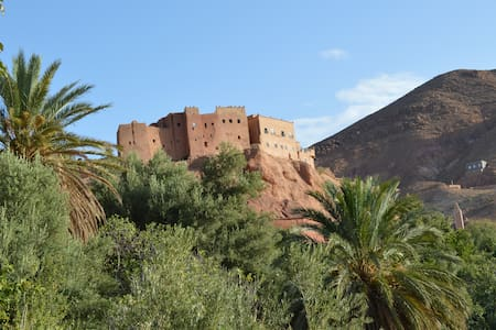private room with gardens view -  Boumalene Dades - Bed & Breakfast