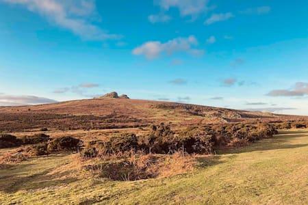 The Hayloft - idyllic setting on Dartmoor.
