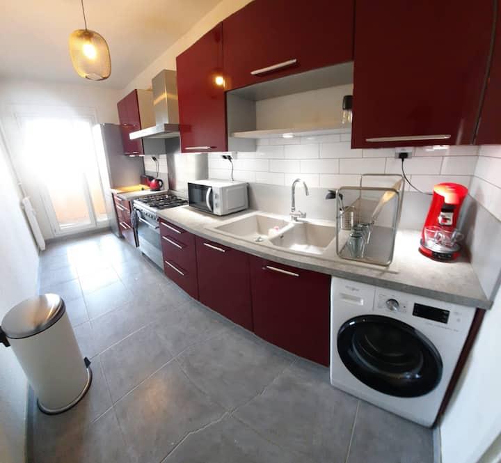 Appartement T4 idéal longue durée !