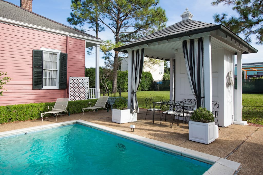 Historic Gated Shotgun With Pool Unit 3 Apartments For Rent In New Orleans Louisiana United