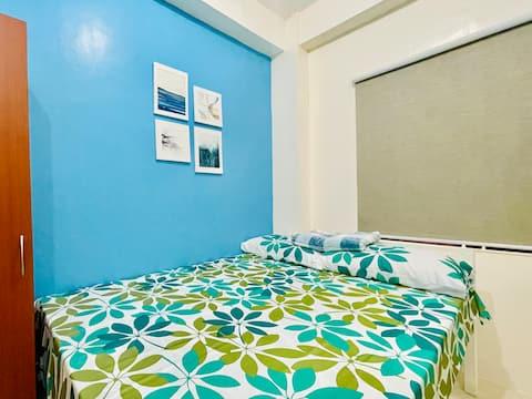 紧邻曼谷市中心的时尚舒适单间公寓