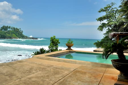 House located on the seafront - Dickwella, Matara