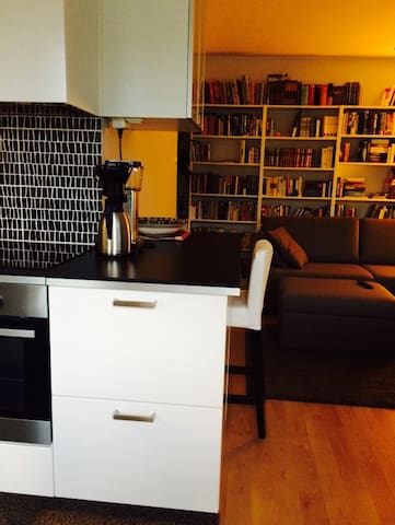 Modern, fully-furnished flat in popular Kallio