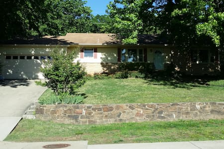 Historic District, Mt. Sequoyah, Close to U of A - Fayetteville - 独立屋