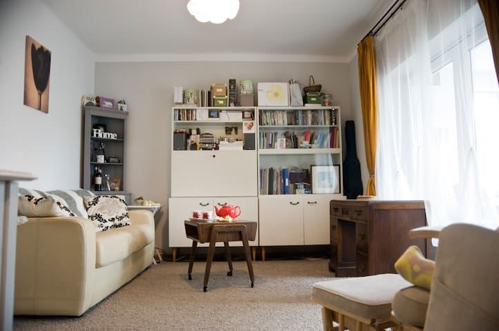 Cosy 1-bed flat in charming town (family friendly) - Zwierzyniec - Departamento