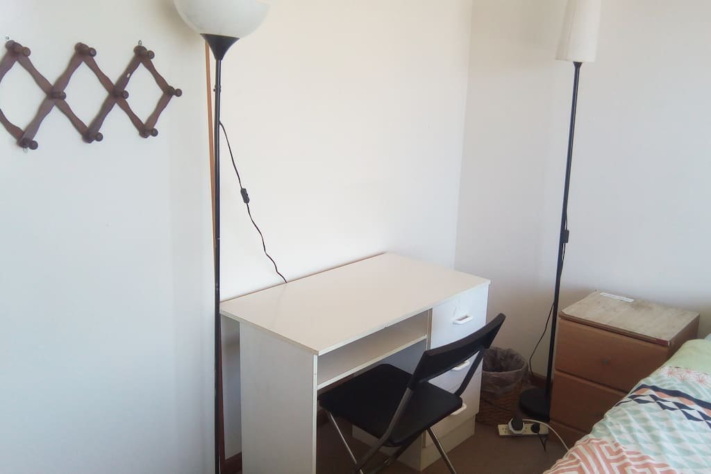 Great Room with useful desk