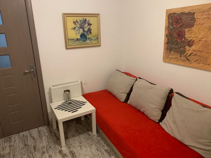 Cozy shared room in central Bucharest!