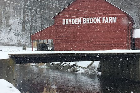 QUIET ROMANTIC HIDEAWAY AT DRYDEN BROOK FARM - Walton
