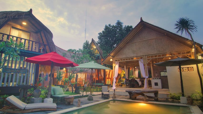 Rumah Lumbung Family stay in Sanur - South Denpasar - Bungalow