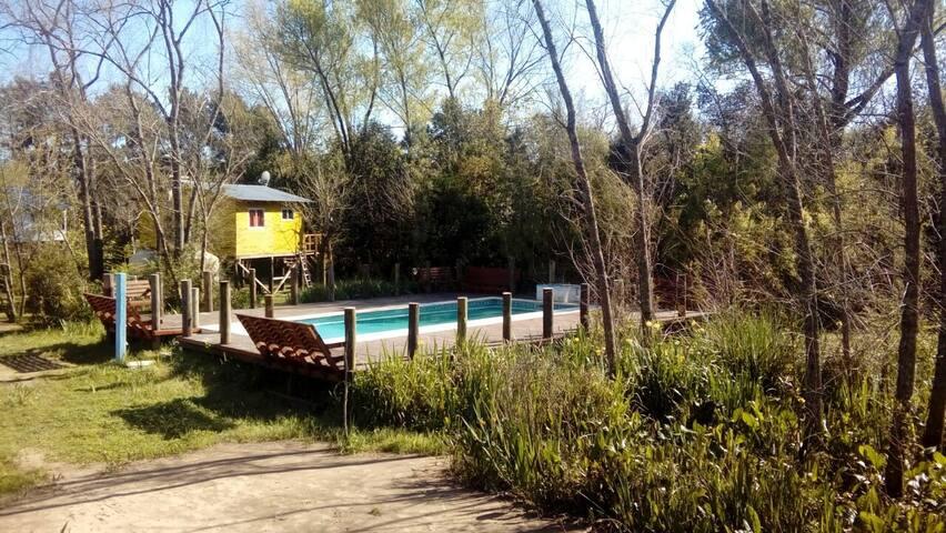 Cabaña Sidharta en medio de  la naturaleza - Delta