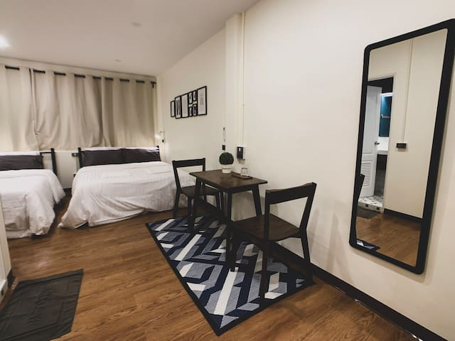 #2A Cozy private room in central of BKK - near BTS