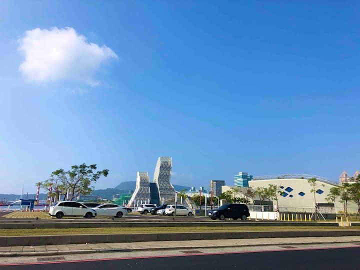 高雄港美景雙主臥 Lovely Harbor View Dual-Master Apartment