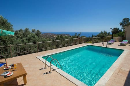 Relax in Triopetra-View Libyan Sea! - Rethimnon
