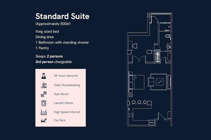 Tropics Eight - Standard Suite