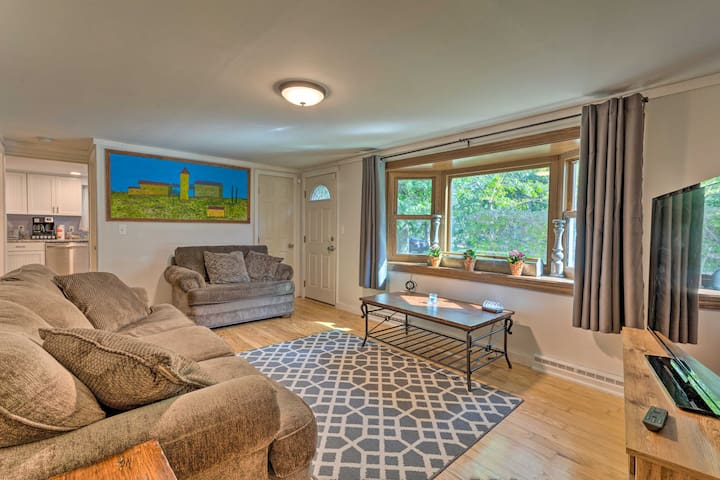 Loaded with the charm, this vacation rental offers 4 bedrooms and 2 bathrooms.