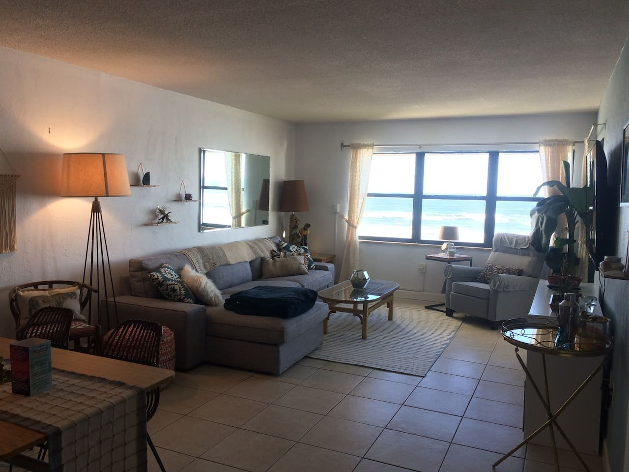 Our comfortable bungalow-style condo has an open concept floor plan for amazing ocean views from everywhere in the home.
