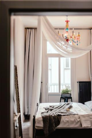 Wake Up Hostel - 3. DBL pokoj s balkonem