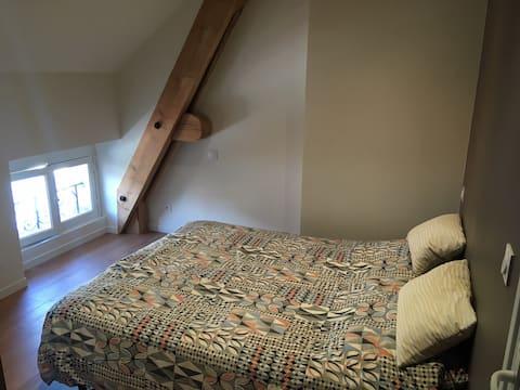 Logement type chambre d'hôtel au centre du Puy