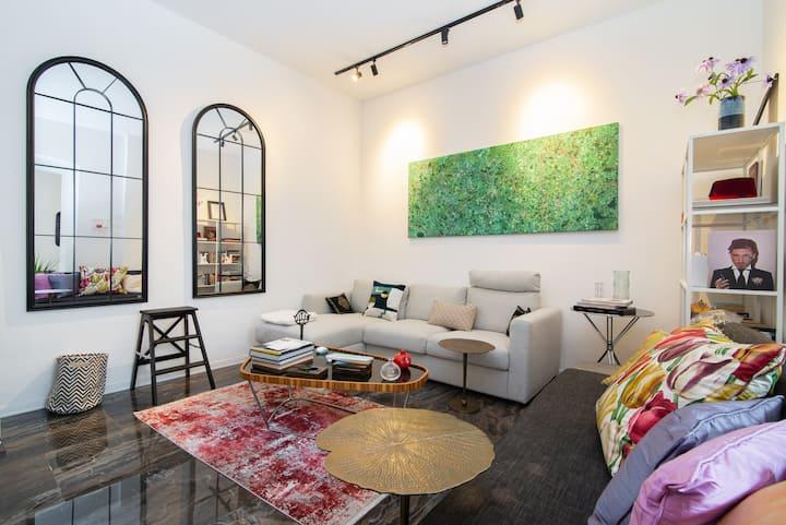 Retro-chic Apartment in Viale XX sett. con AirCond