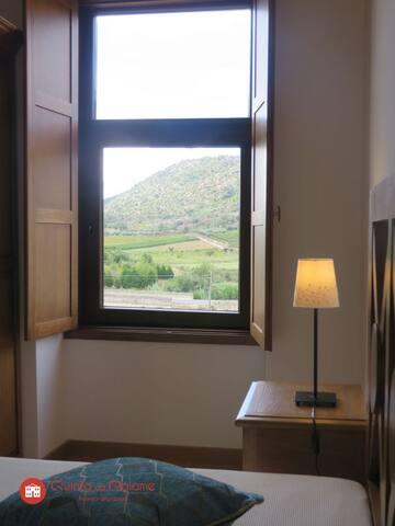 Quinta do Palame vista de quarto