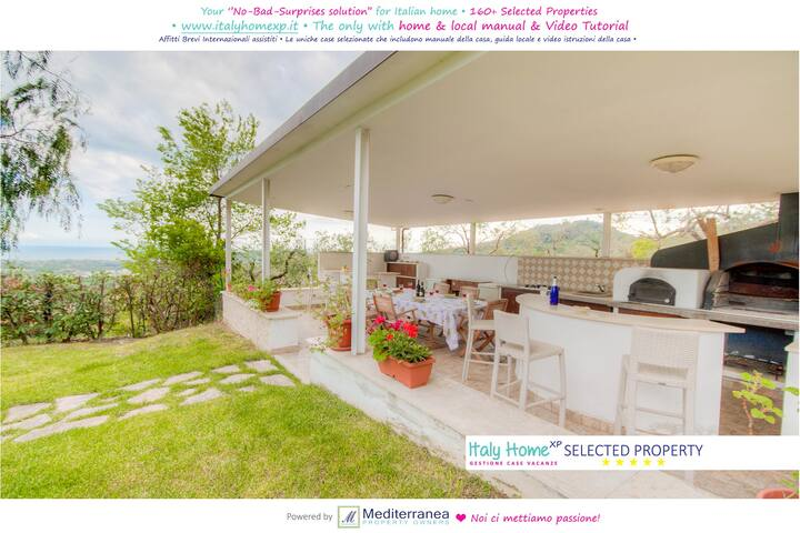 "C196 - ""Villa Saturnia Seaview"" - Province of Latina - Villa"
