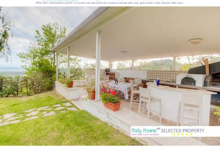 Sea view villa 3 bdr 2 btr WiFi Pool Garden Airco♥ - Province of Latina