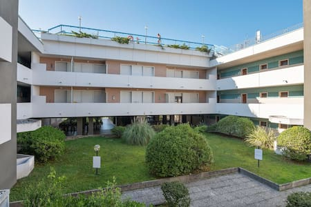 Cozy apartment with pool,in Bibione Pineda. Just 80 m from the beach.