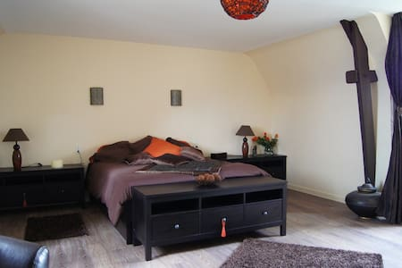 Chambre Chocolat pour deux personnes - Broons - Bed & Breakfast