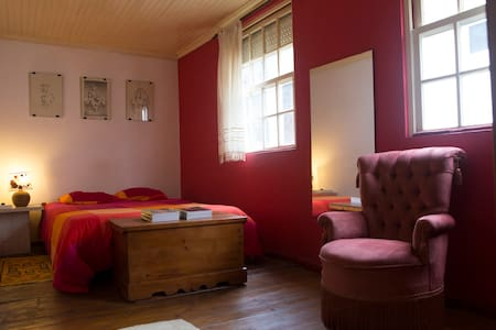 Charming room with private bathroom - Lamego Municipality - 一軒家