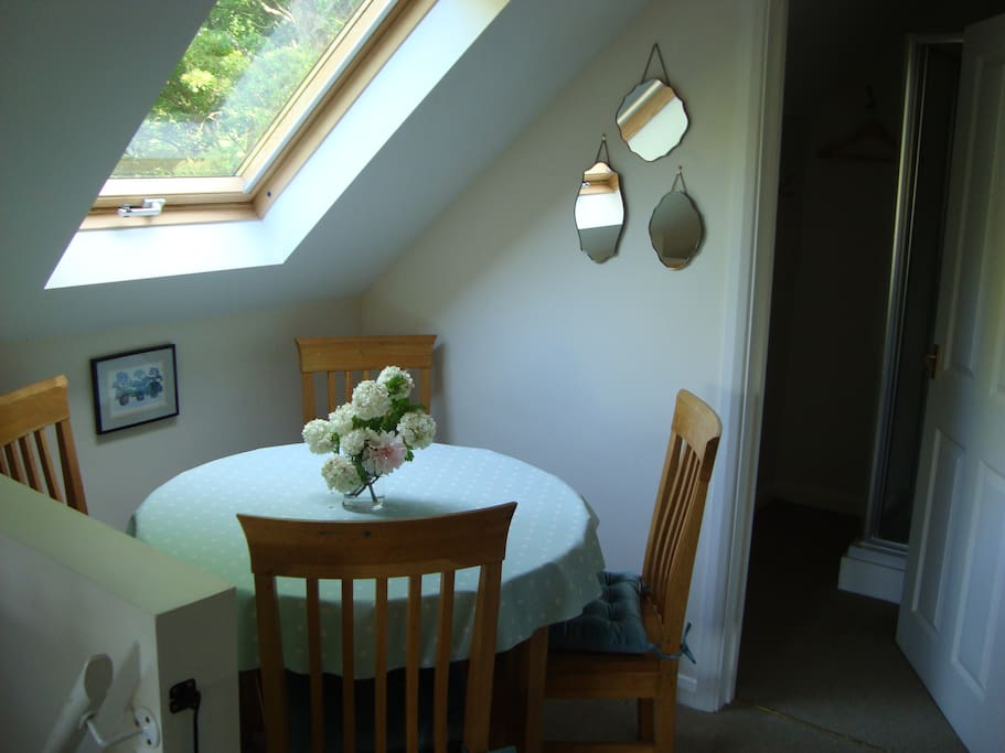 Breakfast and dining table