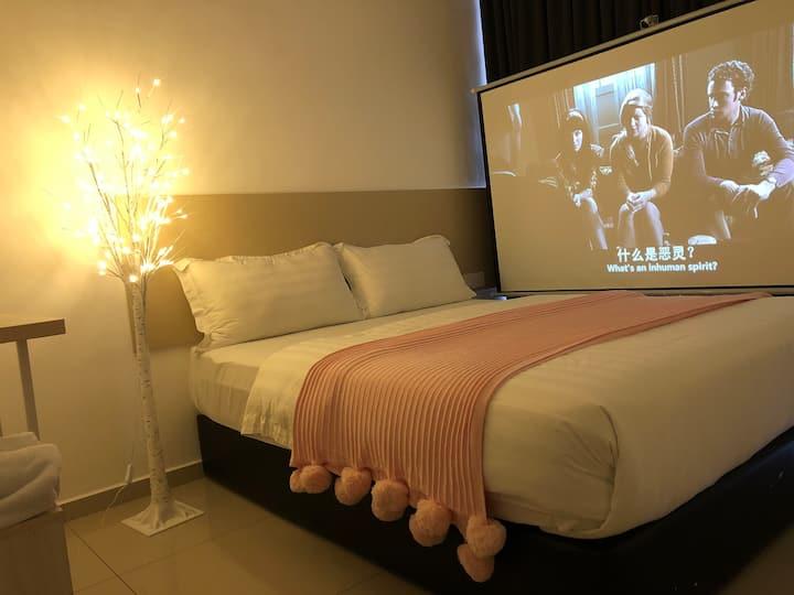 吉隆坡国际机场KLIA/KLIA2坐标酒店巨幕电影唯美豪华大床大窗套房紧邻MITSUI奥莱厦门大学