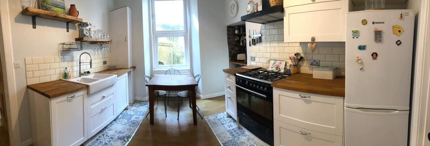 Convenient and cozy flat in Glasgow's west end