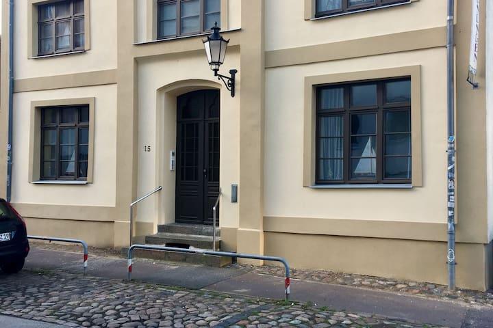 Attraktives Apartment in Wismar nahe dem Strand
