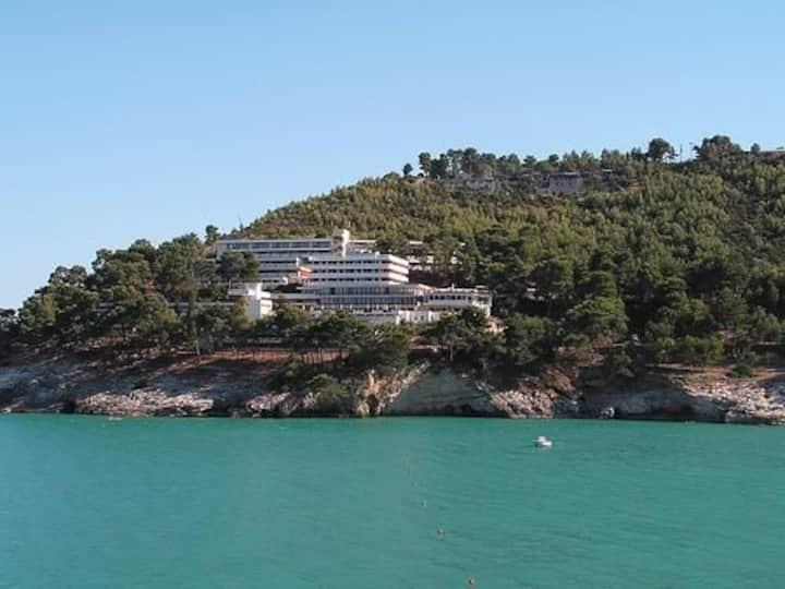 Residence Pugnochiuso. Spiaggia privata.