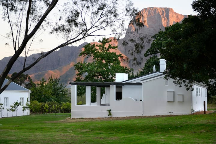 Two Bedroom Two Bathroom Orchard Cottage at Boschendal Estate