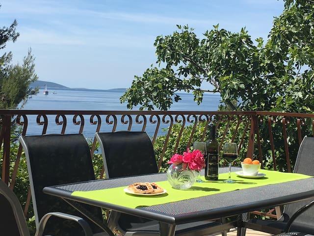 30 m summer House Juraj with Grill - Okrug Gornji - Casa