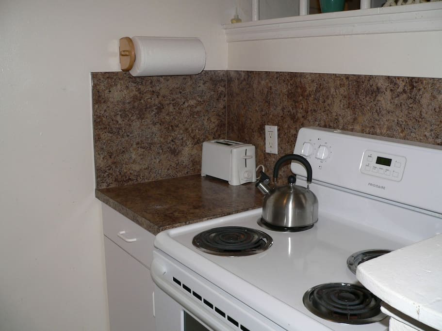Full sized stove and oven