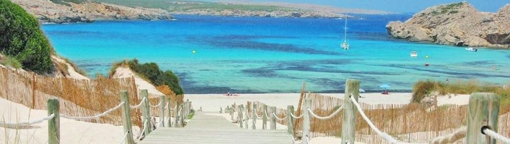 Playa y golf en Menorca - Son Parc - Pis