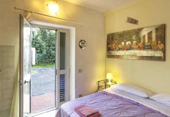 Holiday House Ospedale - Double Room with Bath