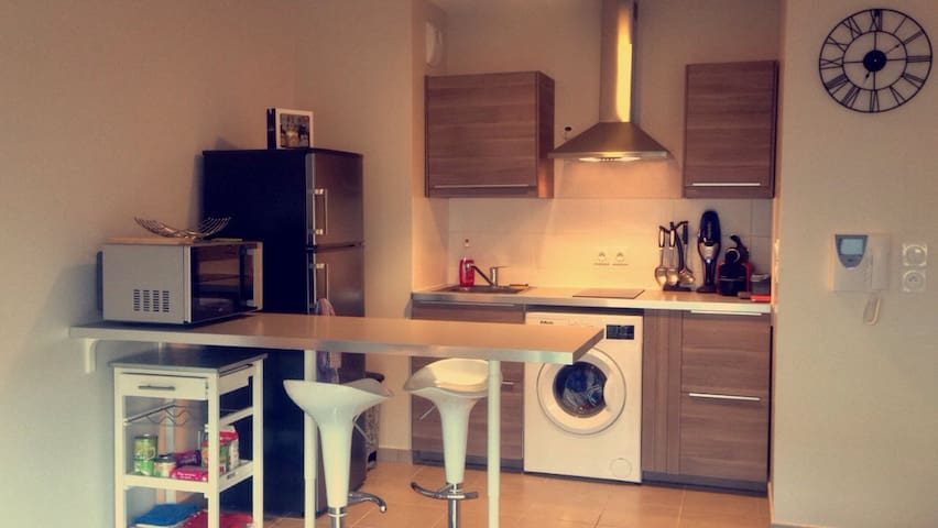 Très jolie T2 neuf+grande terrasse - Dijon - Apartment