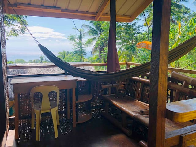 "Samal Island cottage,  ""Durian house"".  Wifi"